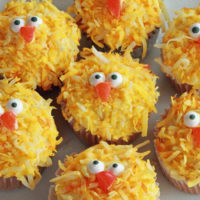 Easter Chick Cupcakes Recipe