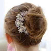 Flower Hair Clip for $4.58 Shipped