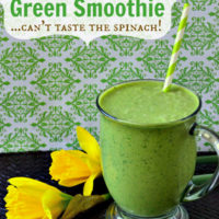Green Smoothie Recipe | Perfect for St Patricks Day