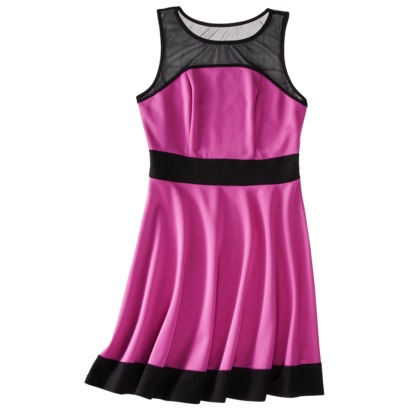 Juniors Mesh Skater Dress