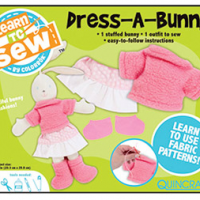 Learn To Sew Bunny Kit for $7 Shipped