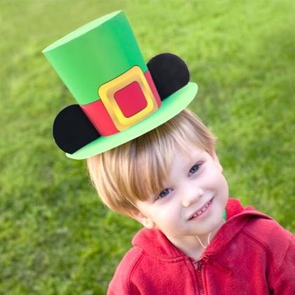 Mickey Mouse Leprechaun Hat