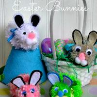 Pom Pom Easter Bunnies | Fun Kids Craft