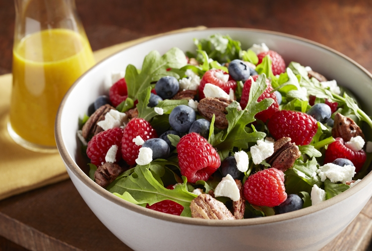 Berry Arugula Salad