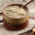 Chicken Wild Rice Soup | Freezer Friendly Meal