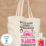 FREE Bath and Body Works Tote and Lotion With Purchase