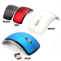 Foldable Wireless Optical Mouse for $5.99