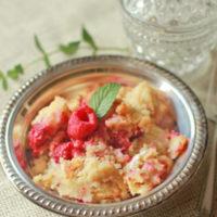 Raspberry Baked French Strata
