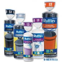 FREE Sample | Ruffies Pure Flex Stretch Trash Bags