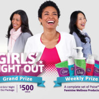 Poise Sweepstakes | Win a Girls' Night Out