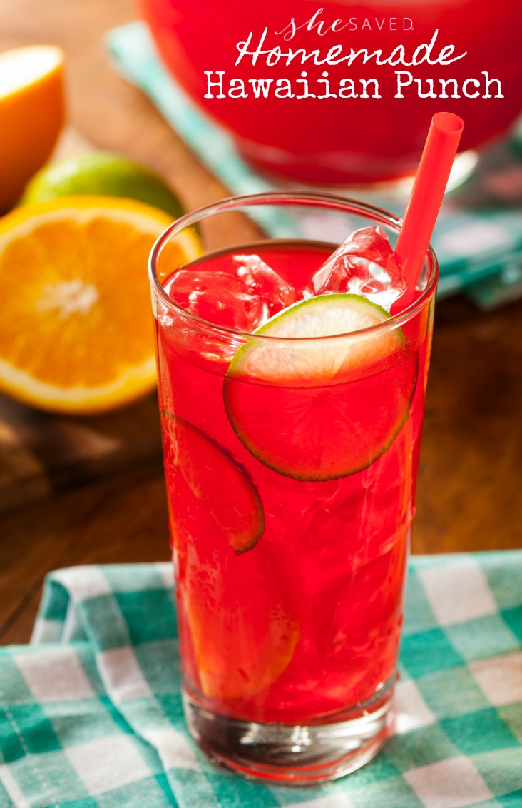 This Hawaiian Punch summer drink is perfect for your summer parties!