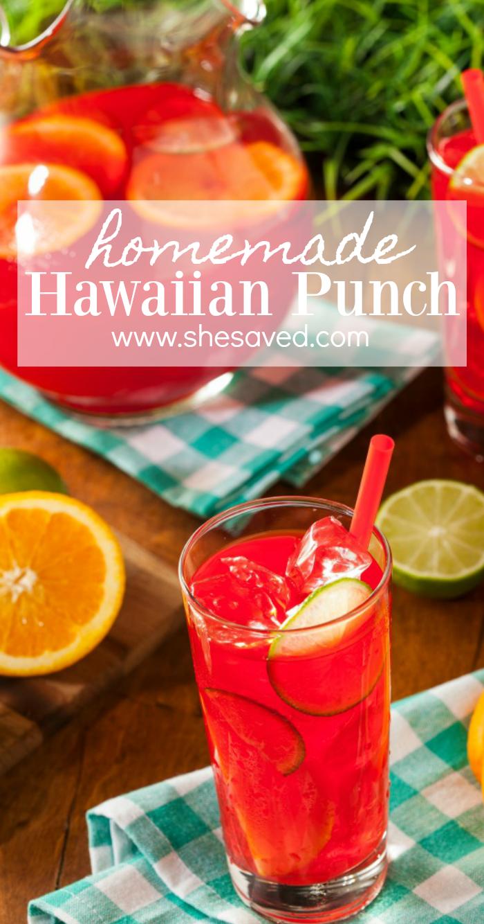 homemade hawaiian punch recipe