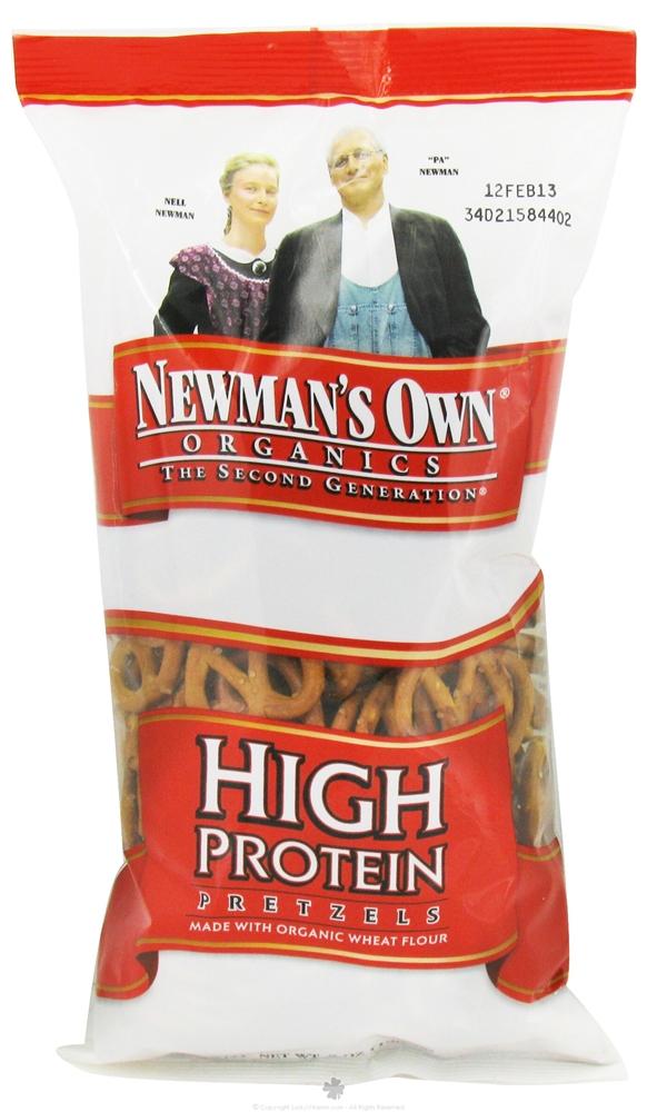 newmans own pretzel