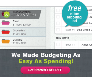 Free Budgeting Kit From LearnVest