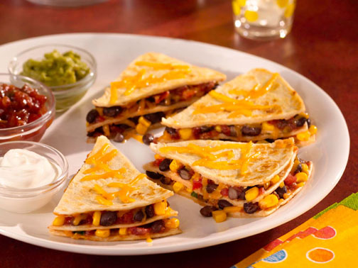 Double Decker Quesadillas