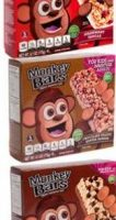 Monkey Bars Coupons | 3 FREE Boxes