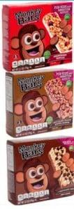 Monkey Bars Coupons | 3 FREE Boxes