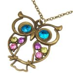 Owl Charm Necklace for $0.93 Shipped