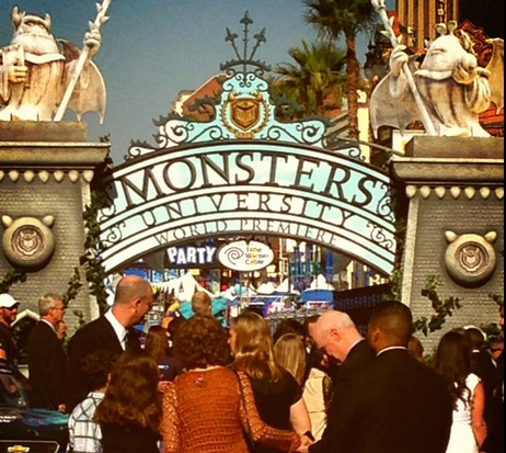 Disney Pixar Monsters University World Premiere and Tailgate Party #MonstersUPremiere