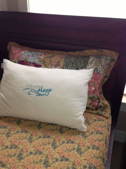 Winner, Winner, WINesday #7: Nature's Sleep Faux Down Pillow Review + Giveaway!