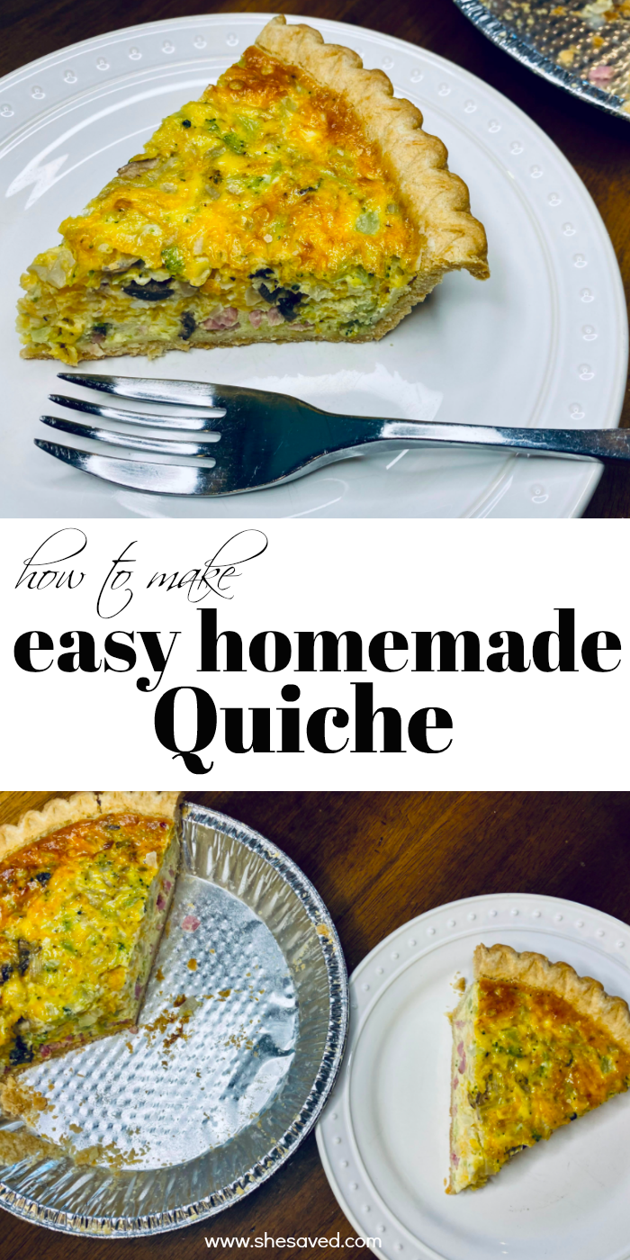 Easy Homemade Quiche