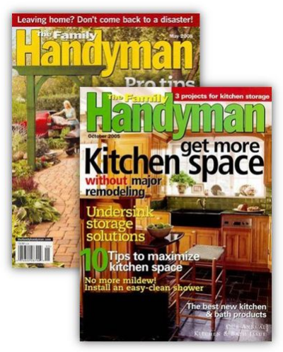 The Family Handyman Magazine for Only $6.99 per Year!