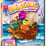 Imagine with Barney DVD Review + Giveaway!