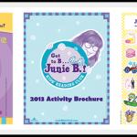 Junie B Jones Reading Club | Reading Log, Activity Brochure And Sticker Sheet