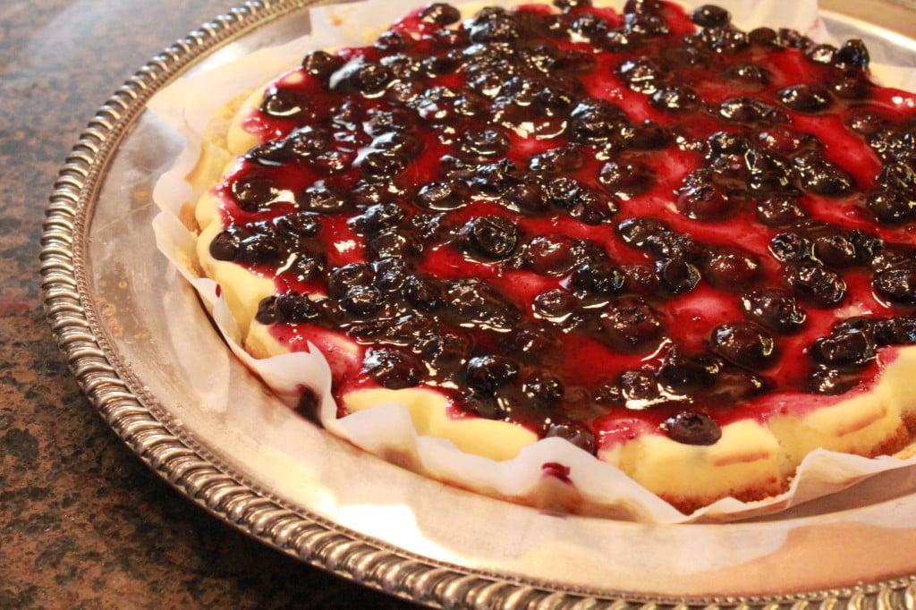 Lemon Blueberry Cheesecake