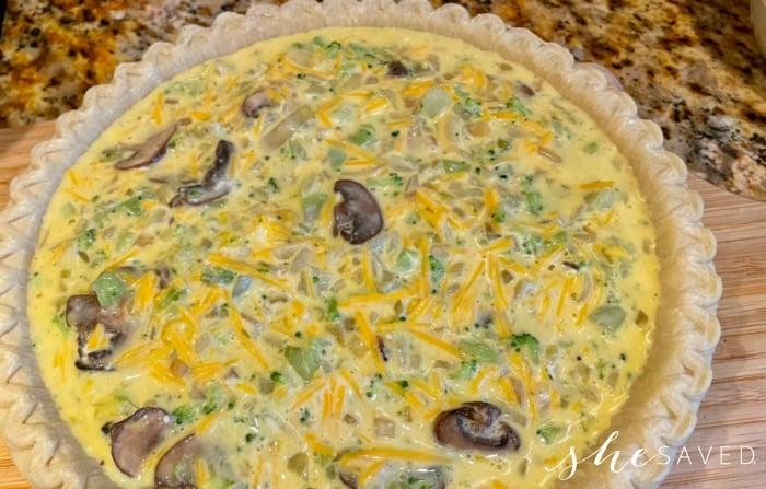 Quiche Pie Recipe