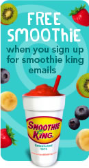 image about Smoothie King Printable Coupon named Smoothie King Coupon Acquire A person Attain A single No cost - SheSaved®