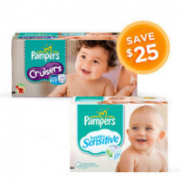 Toys R Us Diaper Deal | $25 off Pampers