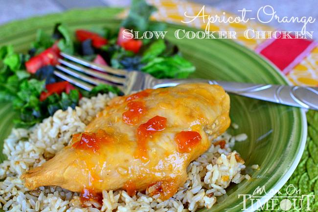 Apricot Orange Slow Cooker Chicken