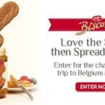Biscoff Sweepstakes
