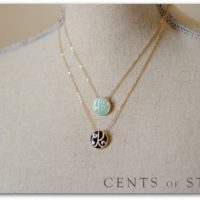 Cents of Style | Initial & Word Necklaces For $10.95 Shipped