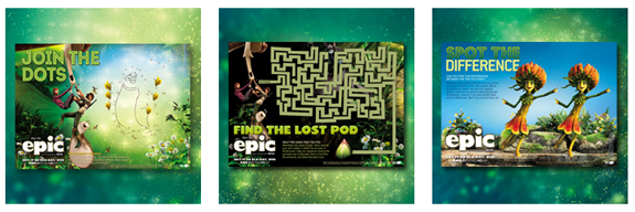 Epic Activity Pages