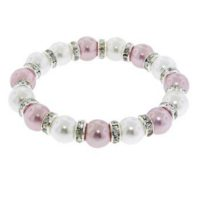 Mother of Pearl Stretch Bracelet For $6.99