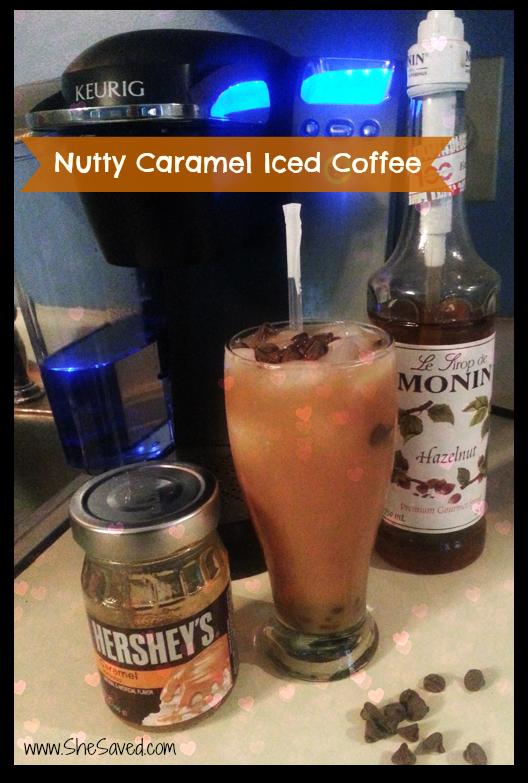 Nutty Caramel Iced Coffee