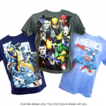 Youth Comic TShirts 2 Pack For $9.99 Shipped