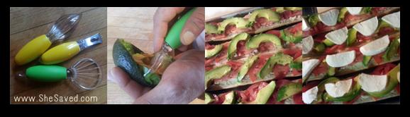 avocado steps