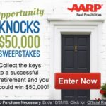 AARP $50K Retirement Sweepstakes