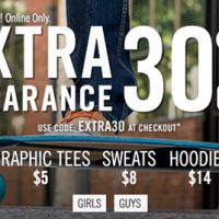 Aeropostale Coupon | Extra 30% Off Clearance