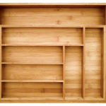 Bamboo Drawer Organizer For $26.93 Shipped