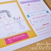 Free Grandparents Day Printable From Paper Coterie