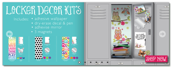 Locker Kit Locker Decor Kits For $14 at