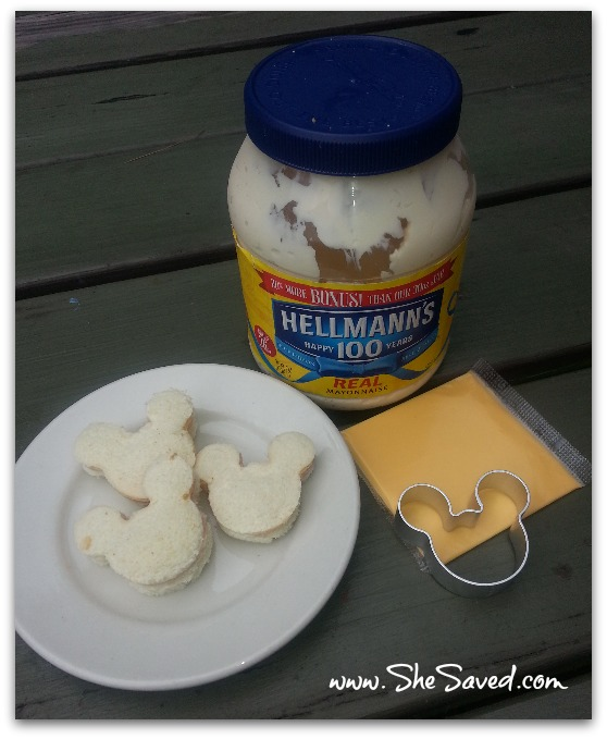 MickeyMouse Sandwiches