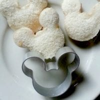 Mickey Mouse Finger Sandwiches + Mickey Mouse Cookie Cutter