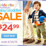 Stride Rite Semi-annual Baby & Toddler Sale