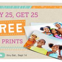 Walgreens Photo Coupon: Buy 25 Prints, Get 25 FREE