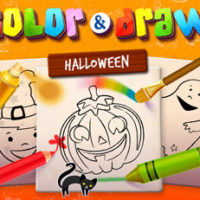 FREE Android App   Halloween Coloring